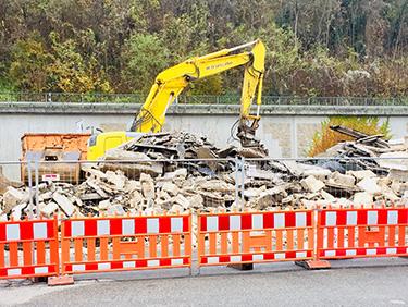 Jetzt Abbrucharbeiten umsetzen mit Kispert Bau