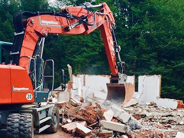 Abbrucharbeiten mit Kispert Bau aus Limbach