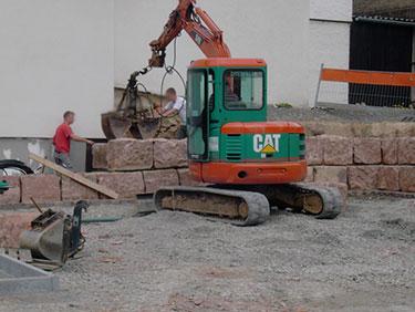 Aussenanlagen mit Kispert Bau