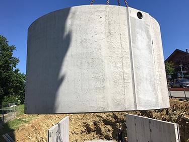 Kanalbau mit Kispert Bau aus Limbach