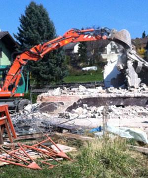 Häuser abreißen mit Kispert Bau aus Limbach