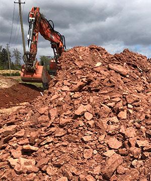 Tiefbau Erdarbeiten mit Kispert Bau