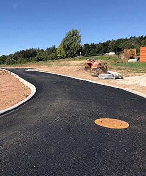 Strassenbau mit Kispert Bau