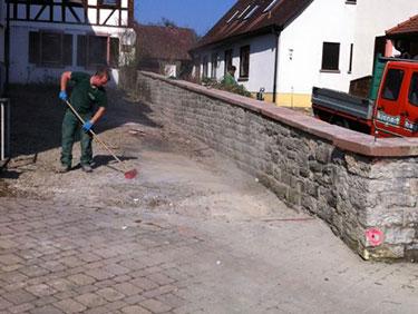 Natursteinarbeiten mit Kispert Bau