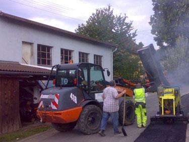 Straßenbau mit Kispert Bau aus Limbach