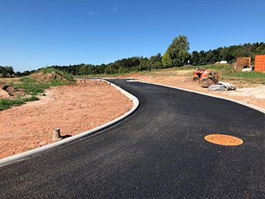 Strassenbau mit Kispert Bau aus Limbach