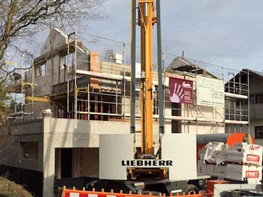 Wohnungen und Häuser bauen mit Kispert Bau aus Limbach
